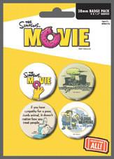 THE SIMPSONS MOVIE - environmentaly - Emblemas