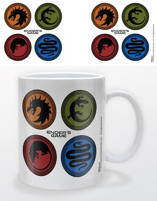 Caneca Ender's game - icons