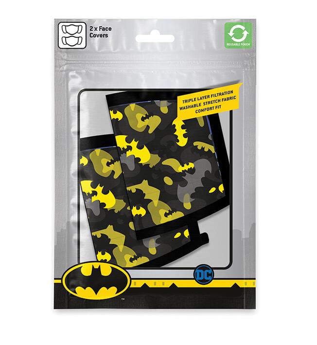 Face masks Batman - Camo Yellow (2 pack)