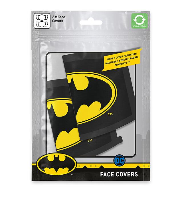 Face masks Batman - Logo (2 pack)