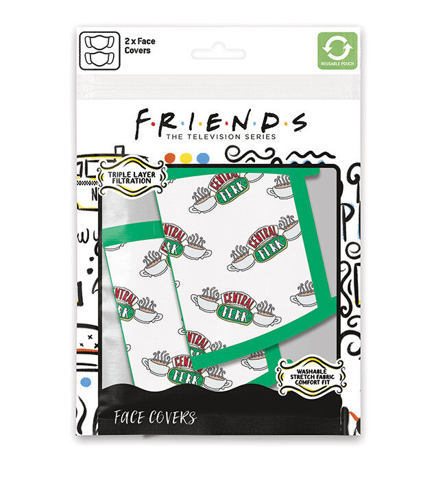 Face masks Friends - Central Perk (2 pack)