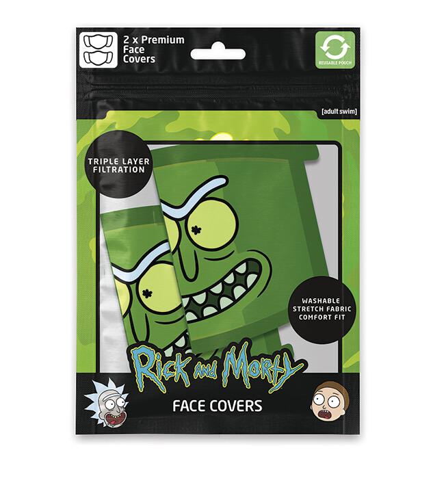 Face masks Rick & Morty - Pickle Rick (2 pack)