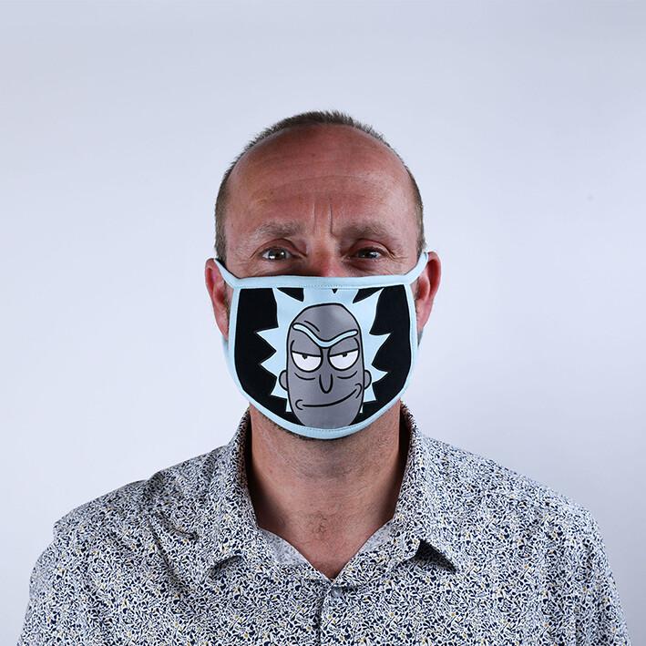 Face masks Rick & Morty - Rick (2 pack)