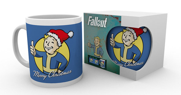 Cup Fallout - Merry Christmas