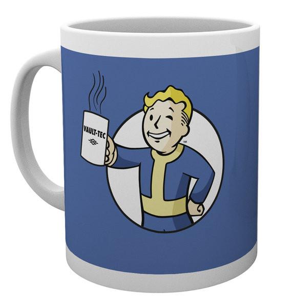 Muki Fallout - Vault Boy Holding Mug