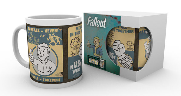 Cup Fallout - Vault posters