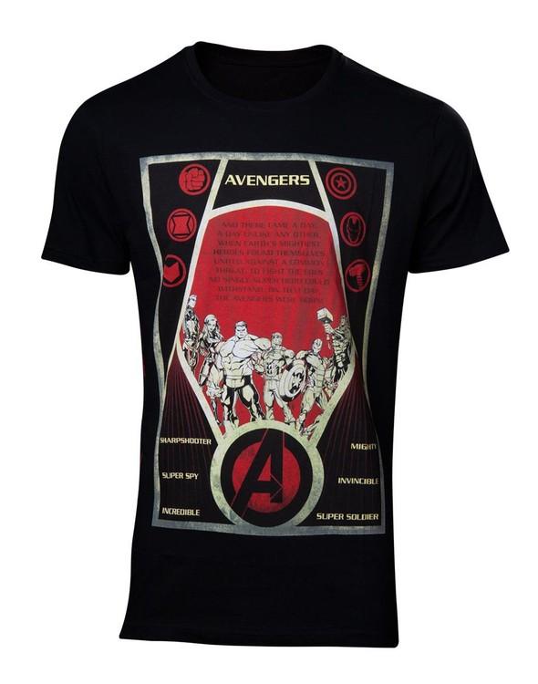 T-shirt Avengers - Constructivism