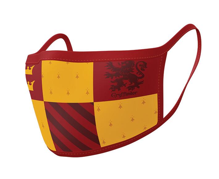 Fashion Face masks Harry Potter - Gryffindor (2 pack)