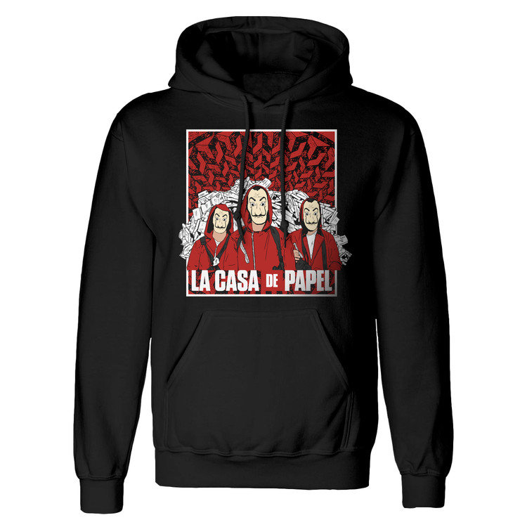 T-shirt La Casa De Papel - Group Shot