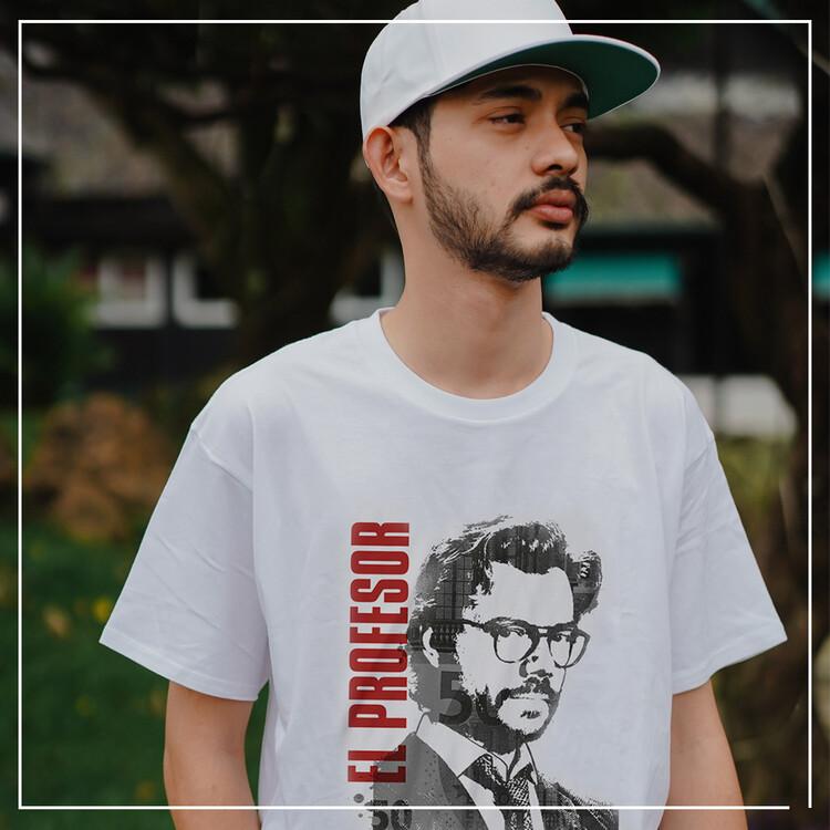 T-shirt Money Heist (La Casa De Papel) - El Profesor
