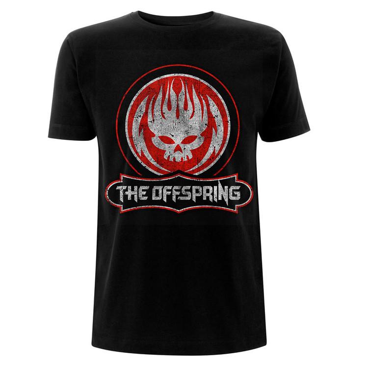 T-shirt Offspring - Distressed Skull