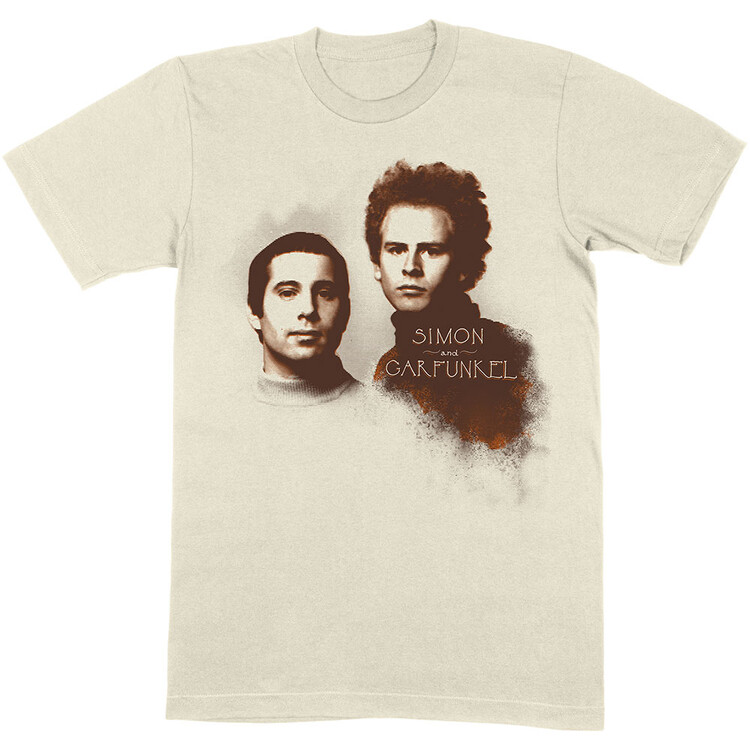 T-shirt Simon & Garfunkel - Faces