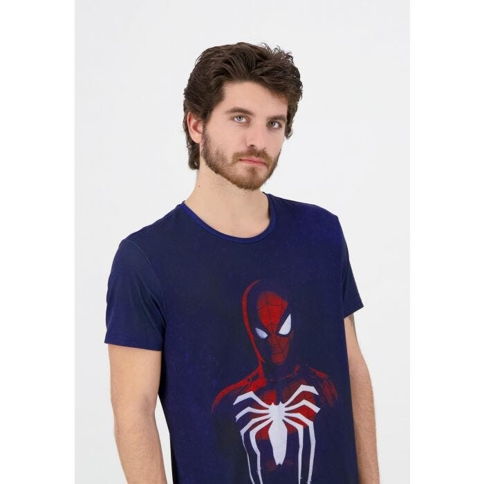 T-shirt Spiderman - Acid Wash Spiderman