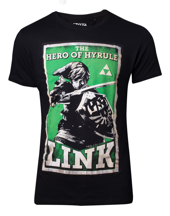 T-shirt The Legend Of Zelda - Propaganda Link
