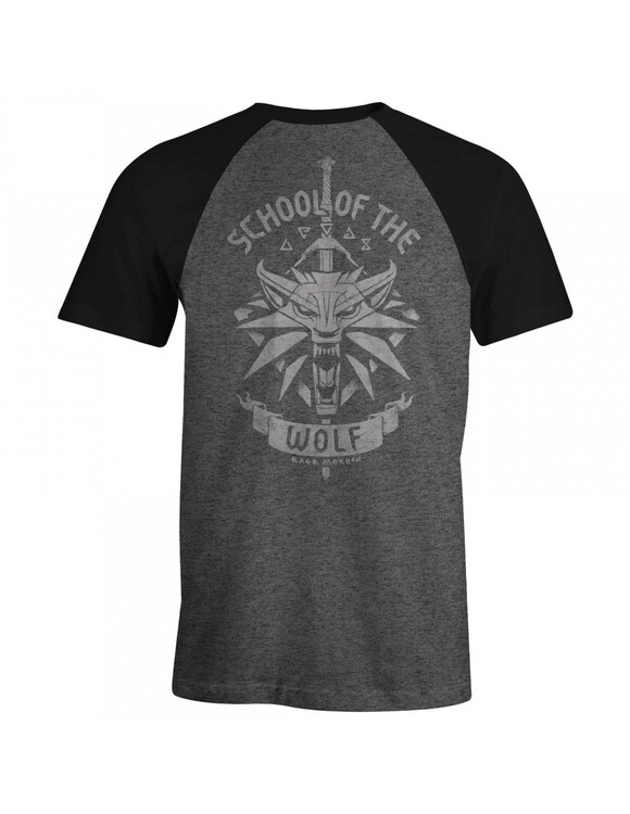 T-shirt The Witcher 3 - School of the Wolf