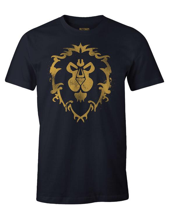 T-shirt World of Warcraft - Cracked Alliance