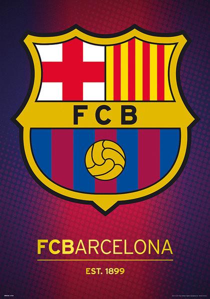 Fc barcelona crest venda em europosters fc barcelona crest posters metlicos stopboris Image collections