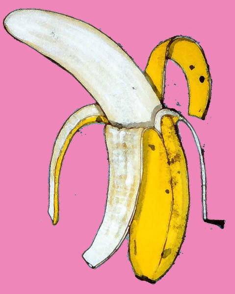 Fine Art Print Banana, 2014