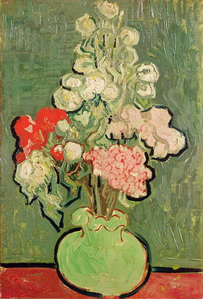 Fine Art Print Bouquet of flowers, 1890