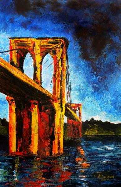 Fine Art Print  Brooklyn Bridge to Utopia, 2009