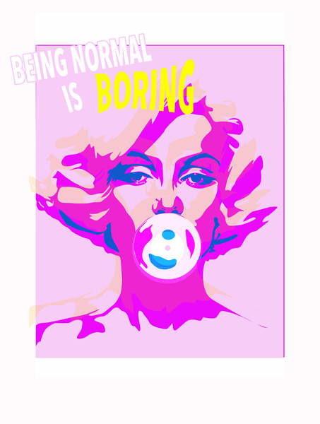 Fine Art Print Bubble Gum, 2015