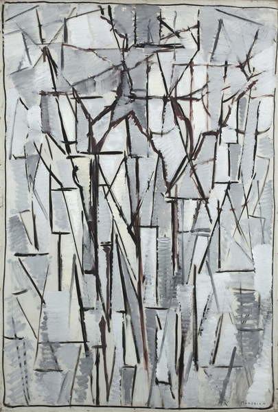 Fine Art Print Composition trees 2, 1912-13