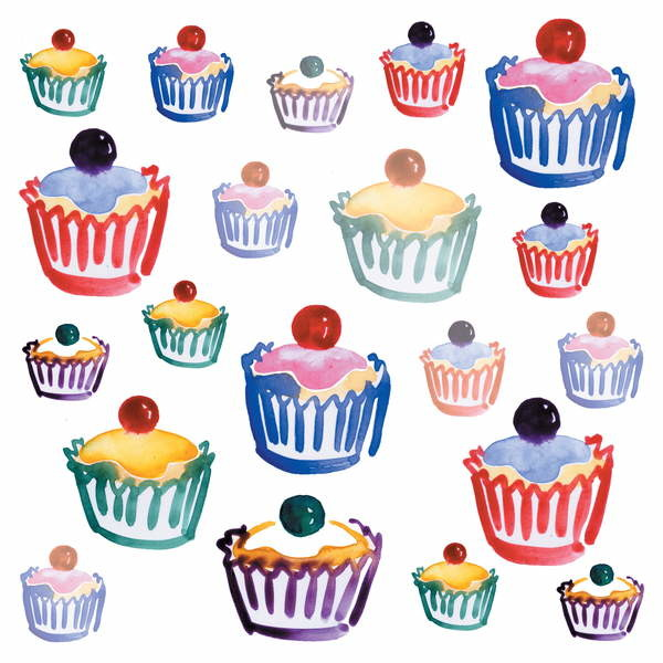 Cupcake Crazy, 2008 Canvas Print