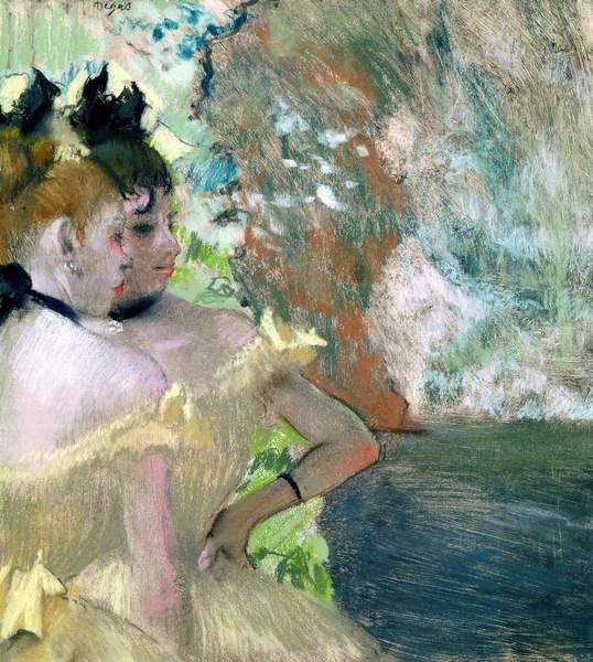 Fine Art Print Dancers in the Wings