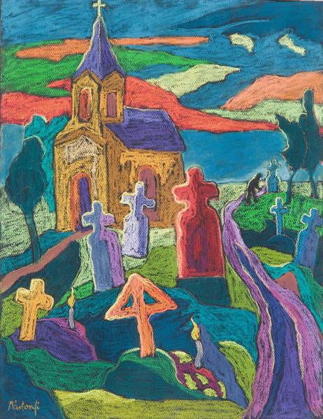 Fine Art Print  Day of the Dead, 2006