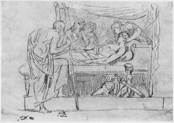 Fine Art Print  Death of Meleager