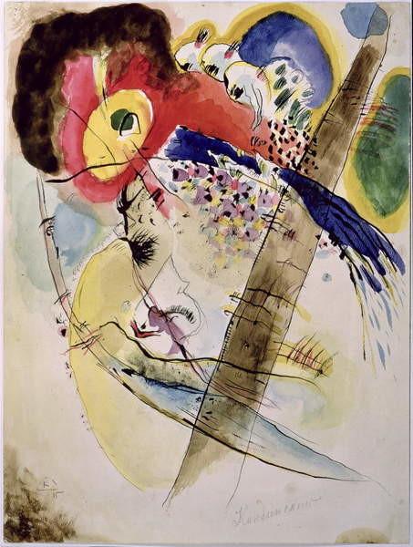 Fine Art Print Exotic Birds, 1915