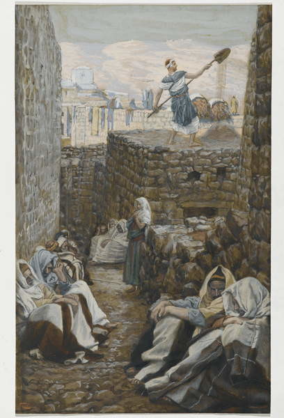 Fine Art Print He who Winnows his Wheat, illustration from 'The Life of Our Lord Jesus Christ'