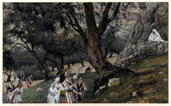 Fine Art Print Jesus Went out into a Desert Place, illustration for 'The Life of Christ', c.1884-96
