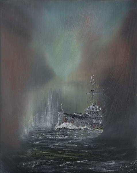 Fine Art Print Jutland May 31st 1916, 2014,