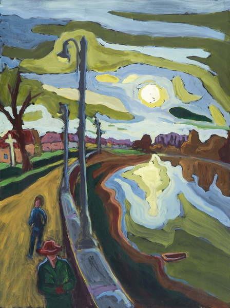 Fine Art Print  Koros-Bank Evenings, 2008
