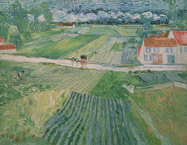 Fine Art Print Landscape at Auvers after the Rain, 1890