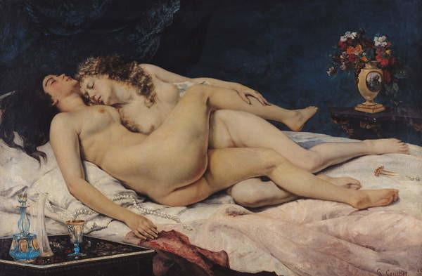 Fine Art Print  Le Sommeil, 1866