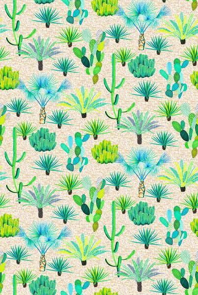 Fine Art Print Les Jardins Majorelle - Cacti