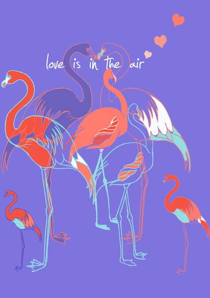 Love is in the air, 2013 Canvas Print