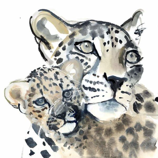 Fine Art Print Maternal Bond, 2015,