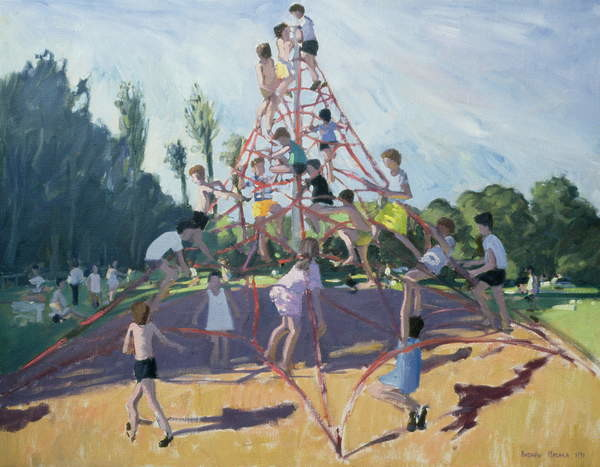 Mundy Playground, Markeaton;Derby, 1990 Canvas Print