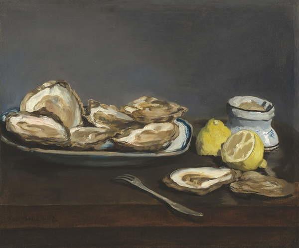 Fine Art Print Oysters, 1862