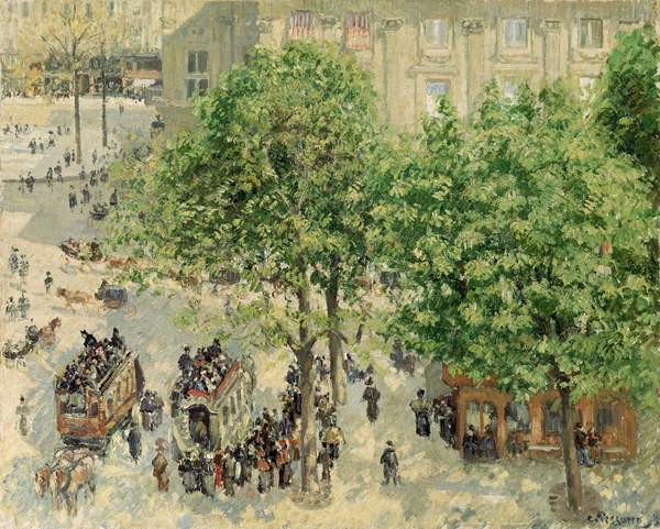 Fine Art Print  Place du Theatre-Francais, Spring, 1898