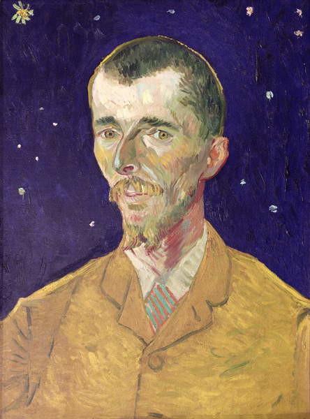 Fine Art Print  Portrait of Eugene Boch (1855-1941) 1888