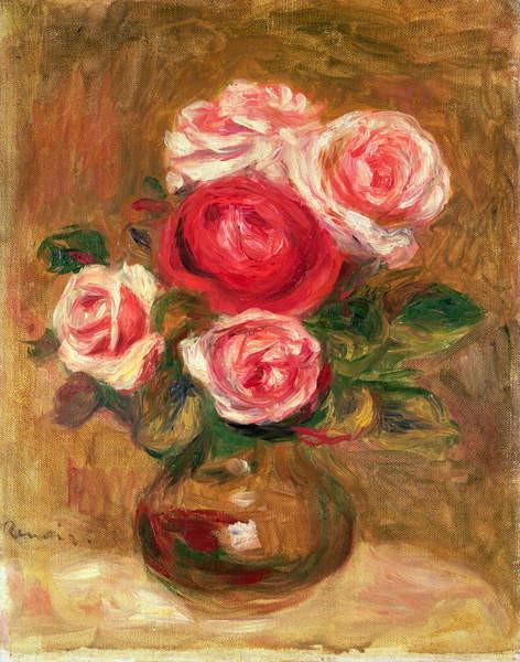 Fine Art Print  Roses in a pot