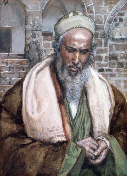 Fine Art Print Saint Luke, illustration for 'The Life of Christ', c.1884-96