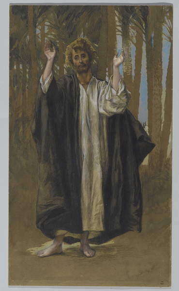 Fine Art Print Saint Simon, illustration from 'The Life of Our Lord Jesus Christ'