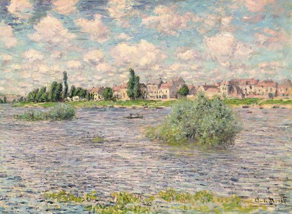 Fine Art Print Seine at Lavacourt