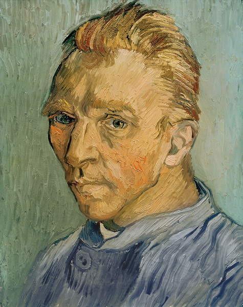 Fine Art Print Self Portrait, 1889