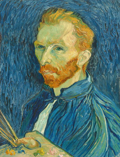 Fine Art Print Self-Portrait, 1889